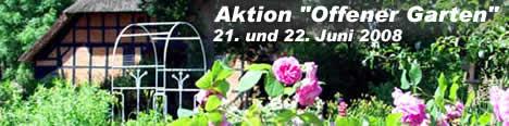 Aktion Offener Garten